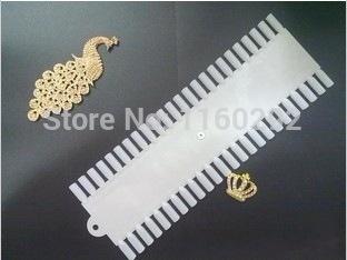 Nail polish swatches model special nail tips color show polish color book 48 grid panels(China (Mainland))