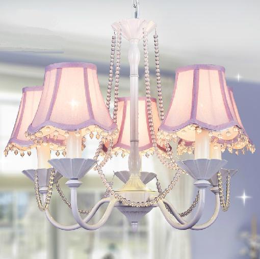 ... lamp slaapkamer lamp idyllische kinderkamer kroonluchter meisje(China