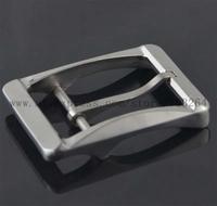 1Pcs  Titanium Ti Belt Buckle Belt Fastener Brushed Finish Allergy Nickel Free