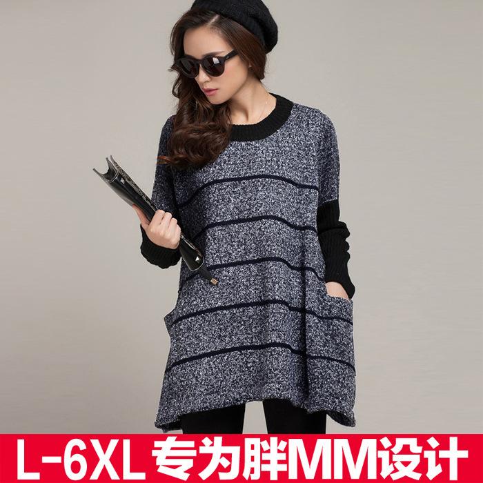 Женский пуловер Unbrand 6XL mujer batwing LS66282
