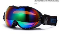 Free shipping name brand Unisex Ski Goggles Skiing Eyewear Double coating  Anti-Fog Lens Professional Ski Glasses for men&women