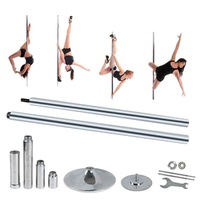 Portable Static Spinning Dance Pole Fitness Exercise Exotic Strip
