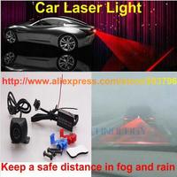 Free Shipping Car Universal Alarm Rear Anti-Collision Taillight Warning Lamp Laser Fog Light For Bmw Audi Chevrolet Honda Etc.