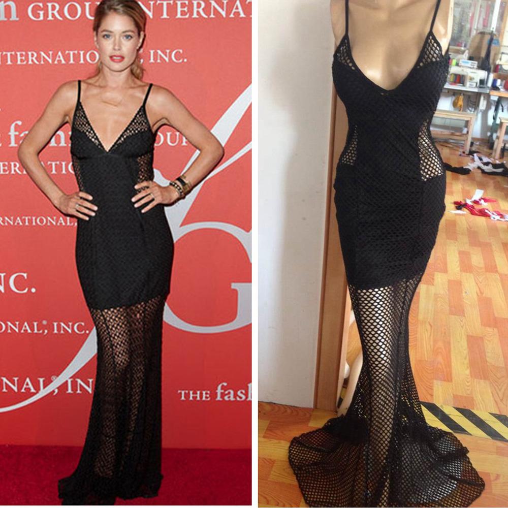 Вечернее платье FS 2015 Maxiskit hollow out lace dress