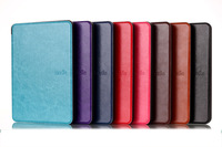 For Amazon New Kindle (2014) 6 inch Luxury Crazy Horse Style Leather Case Cover Free DHL Shipping 20pcs/lot