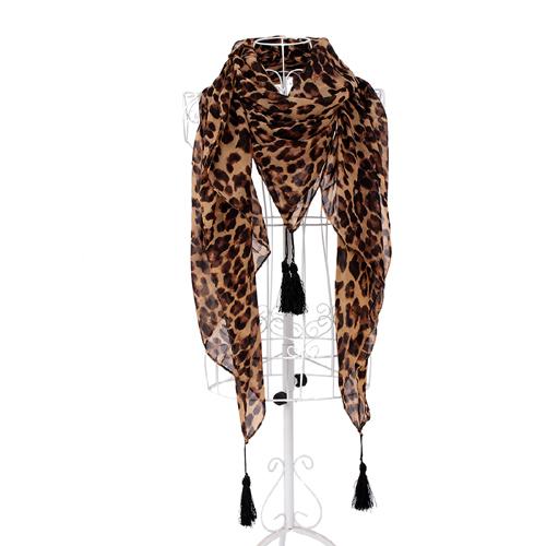 leopard printed scarf designer scarf ladies scarves 2014 NL-2283(China (Mainland))