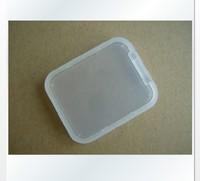 wholesale 500pcs  Plastic TF 1GB 2GB 4GB 8GB 16G 32g  Micro SD Memory Card Cases Box