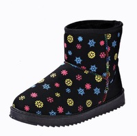 Free Shipping 2014 new Winter Snow Boots women warm cotton shoes size snow boots drop shipping