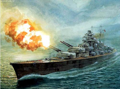 The TRUMPETER assembly model of ship in 05711 World War II Germany Navy Bismarck battleship models(China (Mainland))