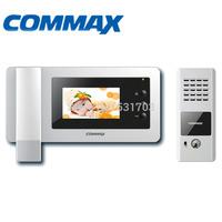 """Commax Video Door Phone CDV-43N 4.3"""" Color Monitor+DRC-4CPN Vandal proof DoorBell Camera outdoor Panel Video Intercom"""