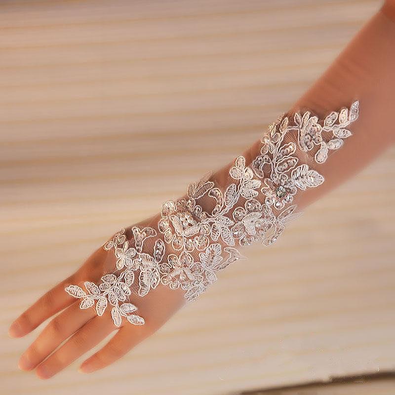 пара свадебные перчатки с