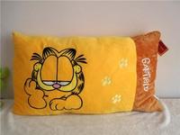 Free shipping Garfield plush pillow garfield soft stuffed toy single size pillow new arrived garfield plush pillow