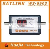 1pc Original Satlink WS6903 satellite meter Satlink 6903 Digital Displaying Satellite Finder meter free shipping