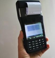 Grátis frete impressora de cartões FRID / impressão de bilhetes handheld PDA / GPRS RFID handheld leitor(China (Mainland))