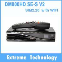 2014 Newest!!!! DM800se-s V2 DVB-S+S2 with BCM4505 WIFI Satellite Receiver SIM2.20 300Mbps Decoder Hbbtv &web browser 5PCS