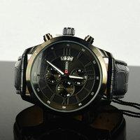 Curren Brand Vogue Business Man Men's watch with Calendar Genuine Leather 3ATM waterproof, Brand watches, Dropship Relogio