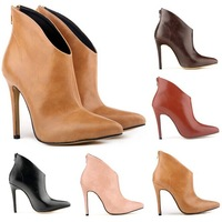 FREE SHIPPING WOMEN ELEGENT PLATFORM HIGH HEELS SUEDE SHOES ANKLE BOOTS WEDGES US 4-11