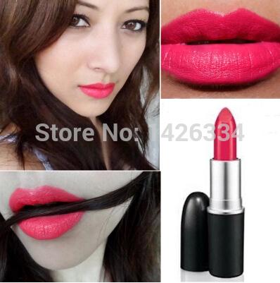 1pcs makeup brand Lips Collection lipstick Lady Gaga rose pink lipstick 3g free shipping(China (Mainland))