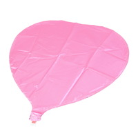 1pcs pink 18inch child inflatable toys film ben heart balloon foil balloons for party decoration