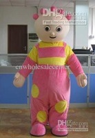 New arrival 2014 Adult lovely little doll Mascot Costume fancy dress party costume adult size