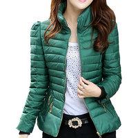 Autumn Winter Jacket Women Casaco Feminino Inverno 2014 Slim Office Ladies Cotton Coat Plus Size Short Coats Jaquetas DP1009