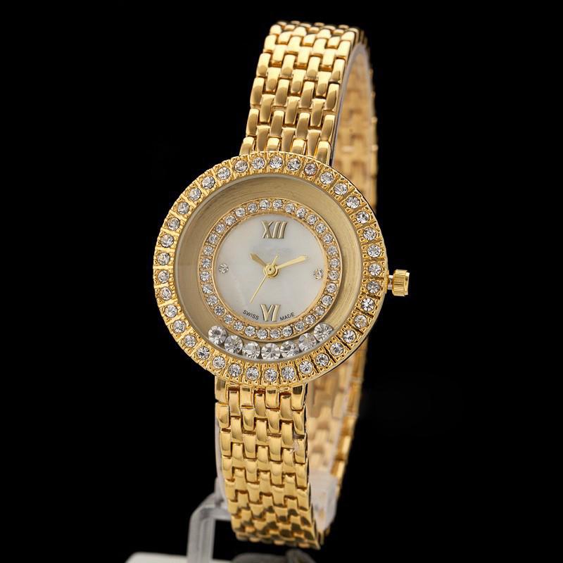 Reloj De Diamantes De Imitacin De La Moda De Lujo De La ...