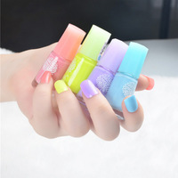 1Piece 60 Color Water-based Nail Polish Non-toxic Tasteless Available for Children Pregnant Women
