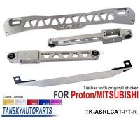 Tansky - Epman Rear Lower Control Arm Subframe Brace Tie Bar silver For Mitsubishi Proton TK-ASRLCAT-PT-R