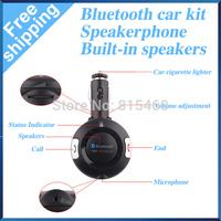 Free Shipping New Bluetooth Car MP3 Player Wireless FM Transmitter Audio Modulator Car Kit BT06