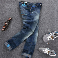New Arrival 2014 high quality fashion casual Men's jeans brand jeans denim new stylish denim trousers,wholesale Men's pants