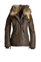 Brand New Denali Women Masterpiece Brown Down Parkas Jacket Short Female Winter Real Fur Hooded Puffer Coat Outerwear GOBI 803