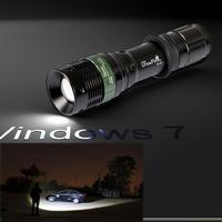 Super Power UltraFire 2000LM CREE XM-L T6 LED Torch 18650 Adjustable Flashlight