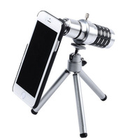 2014 Fashion 12x Zoom Optical Camera Telescope Lens with Tripod for iPhone 6