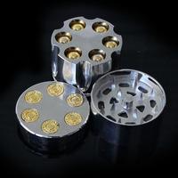 Bullet Shape Herbal Herb Tobacco Grinder Smoke Grinders hand Muller Magnetic Smoking Accessories Drop Shipping