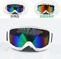Unisex  Double Layer Antimist Skiing Eyewear Mirror Cover Myopia Glasses Hiking Gogglse Spherical Skiing Goggls