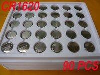 Lots of 90 Lithium CR1620 CR 1620 LM1620 ECR1620 3V Coin Cell Battery Bulk