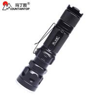 Multifunctional flashlight outdoor flashlight ride hiking camping flashlight retractable focusers kb96-xpe