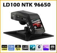 Full HD 1080P 30fps 5MP 120 Degrees Lens Novatek 96650 Car DVR Camera Video Recorder , Night vision Black box LD100