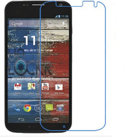 3 PCS Front HD Transparent Clear Screen Protective Film + Cloth For Motorola For Moto x xt1058