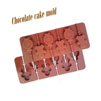 1 Piece Food mold  Shy hyacinth lollipop molds  bakers favorites environmental protection ease of use silicone mold