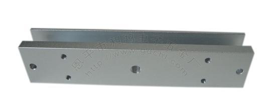 U Type Bracket Door Access Control Accessories Bracket Cheapest 280kg Magnetic Lock Bracket in Frameless Glass Door HF-280U(China (Mainland))