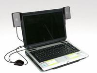 8pcs Wholesale amazing deal!MINI Loud Speaker USB Portable Mini Stereo Speaker for Laptop Soundbar Speaker for Notebook Free DHL