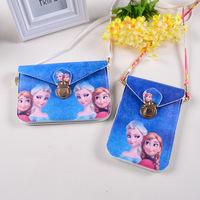Cute Kids Girls Princess Frozen Shoulder Bags Children Messenger Bags Handbag