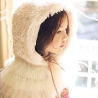 Hu Sunshine wholesale new 2014 Winter latest fashion design girls hats lace decoration woolen warm solid Bomber Hats ZLF1105115H