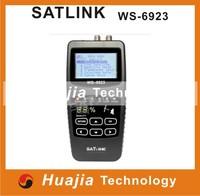 Original Satlink WS-6923 DVB-S Digital Satellite Finder Meter FTA C&KU Band with 2.1 Inch LCD Display
