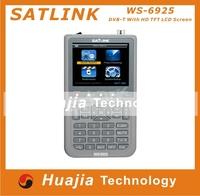 1pc Original Satlink WS6925 DVB-T Digital Meter Finder with HD TFT LCD Screen express