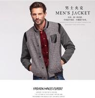 free shipping 2014 NEW spring and autumn fashion Mens Jackets And Coats Casual Man Jacket Fashion splicing jacket