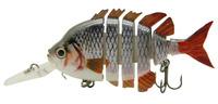 "3"" Crazy Panfish Multi Jointed Fishing Lips Life-like Hard Lures Swimbaits S-WPAN-E Free Shipping"