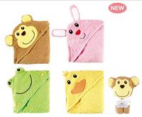Free Shipping Luvable Friends Banheira Inflavel Baby Bath Towel Hood Baby Bathrobe