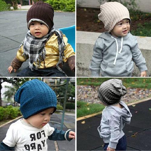 Details about Baby Infant Toddler Vogue Popular Beanie Hat Warm Winter Boys Girls Cap Children(China (Mainland))